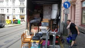 stěhování Manětín