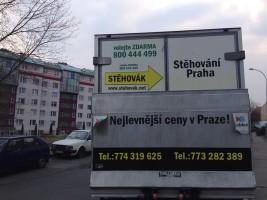 stěhování Praha 14