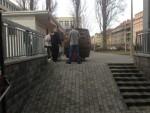 Použití paletového vozíku ke stěhování